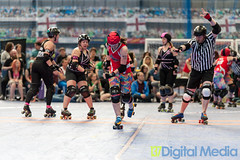 LRD Rebel Roses Vs LRG Brawls Saints