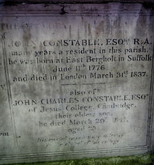 John Constable's grave at Hampstead (AnthonyR2010) Tags: london church grave artist stjohn painter hampstead constable johnconstable stjohnathampstead