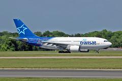 "C-GPAT Airbus A.310-308 Air Transat MAN 03-06-16 (PlanecrazyUK) Tags: man manchester 030616 ringway egcc airtransat airport"" cgpat airbusa310308 ""manchester"