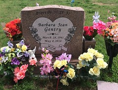 Gentry Headstone (eloisedv) Tags: oklahoma cemetery headstone gravemarker cartercounty lonegrove