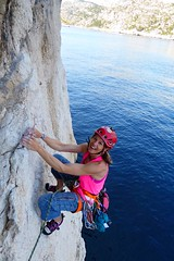 Araceli Segarra Calanques 2 (aracelisegarra) Tags: aracelisegarra escalda calanques mar climbing deporte sport alpinist