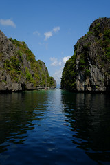 (Valerio Soncini) Tags: blue sea seascape green island big philippines lagoon ph hopping elnido philippinen miniloc sooc pilippinen mimaropa