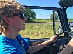 Taking it home finally! (cmiked) Tags: john texas jeep waco cj7 proj366 366169