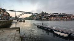 Dom Lus I Bridge, Porto ({heruman}) Tags: bridge panorama color portugal horizontal fuji pano x porto fujifilm 1855 169 fujinon oporto xe1 domlusi germanvidal