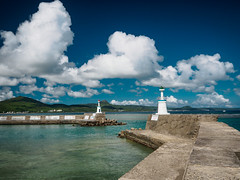 (Eyes don't know Ting) Tags: sea sky cloud lighthouse olympus  kenting em10   1442mmez