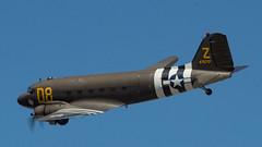 C-47 (EHPett) Tags: airplane military airshow rhodeisland douglas skytrain dc3 dakota warbird c47