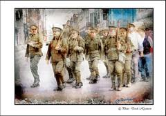 PALS    1914 (Derek Hyamson) Tags: century liverpool march candid celebration reenactment impression hdr 191418