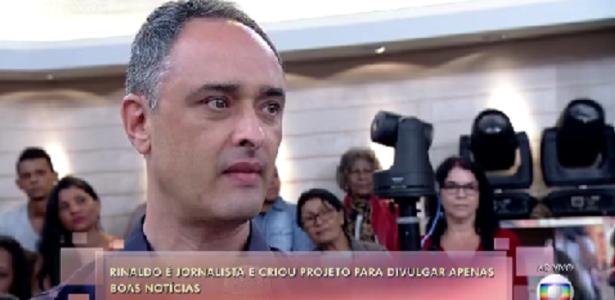 Ex-apresentador da Band diz na Globo que filha não o assistia na TV