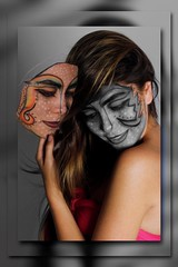 2 MASk (Phournier. (Thanks for over 200,000 views).) Tags: photoshop mask modelo mascara phournier