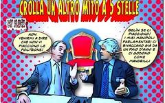 S.O.S. parlamentari britannici a casa (SatiraItalia) Tags: vignette satira farage grillo
