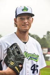 A.J. Puk (lakemonsters2015) Tags: aj puk ajpuk vermont lake monsters vermontlakemonsters pitcher