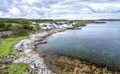 Ardbeg Distillery and Islay Coastline (Xuberant Noodle) Tags: ocean uk sea beach coast scotland islay whisky distillery ardbeg