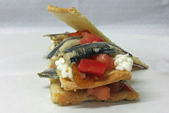 Mención al pincho más sano por 'Mil hojas de anchoa'