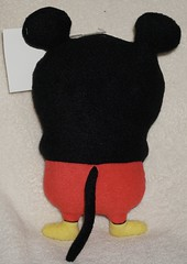 Uglydoll Rare Prototype in Mickey Costume and Wage-  David Horvath (jcwage) Tags: giantrobot mouse handmade oneofakind buddy disney mickey ox disneyworld prototype mickeymouse sample tray cinco uglydoll rare uglydolls icebat babo jeero wage gund wedgehead trunko uglycon