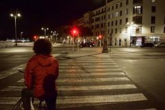 DSC_0188Splash.jpg (andystevenson64) Tags: street red bike lights crossing traffic splash