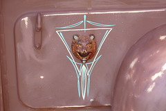 1950 Ford 'Rusty Bear' (bballchico) Tags: ford pickuptruck 50s 1950 carshow pinstripe billetproof carart artmetal rustybear roadmencc billetproofwashington