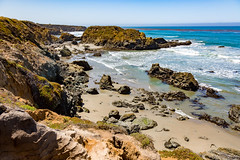 7P7A2630 (Mark Ritter) Tags: ocean flowers water landscape coast highway rocks pacific pch