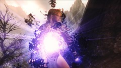 TESV - Become Shadow spell (tend2it) Tags: kenb elder scrolls skyrim v rpg game pc ps3 xbox screenshot sweetfx enb krista demonica race sg lilith 161 felicia become shadow spell arcane magic magicka dual cast life steal absorb darkness tendrils oil slick lightning arc cloak armor lydia silverlight