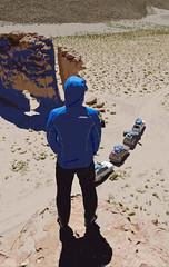 Back portrait (Greelow) Tags: travel portrait car rock america trek sand nikon autoportrait south sable bolivia dos sud dsert bolivie amrique d7000 greelow