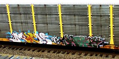 much - hope4 (timetomakethepasta) Tags: hm ipc yen34 each2 much hope4 freight train graffiti autorack