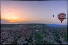 Hot air baloon@Goreme#2 (Sean X. Liu) Tags: hotairbaloons sunrise goreme turkey