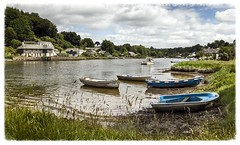 Lerryn (Katybun of Beverley) Tags: lerryn cornwall village boats landscape shoreline cottages scenery scenic rural
