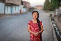 Tajik-Uzbek girl (damonlynch) Tags: asia centralasia centralasian districtsofrepublicansubordination iranian kirov ozbek people persian regar regionofrepublicansubordination tajik tajikistan tursunzoda tursunzodadistrict uzbek child female feminine girl humanbeings humans juvenile outdoor outdoors outside person village youth