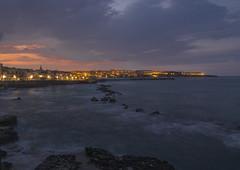 Ortigia (M.a.r.t.Y) Tags: sicilia ortigia lovelycity long exposition sea sky sunset tramonto sicily cloud color travel colori viaggio