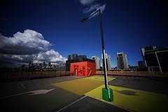 My favourite carpark upper. (@fotodudenz) Tags: voigtlander 12mm ultra wide heliar angle sony a7 sonya7 my favourite carpark upper voigtlander12mm ultrawideangle ultrawideheliar ultrawide docklands melbourne victoria australia foto