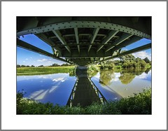 Unter der Brcke (Unter the bridge) (alfred.hausberger) Tags: rott schwaim brcke samyang fisheye