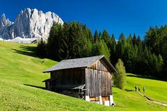Val di Tires (Nik!) Tags: tires valditires dolomiti rosengarten catinaccio estate baita fienile