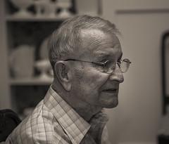 John D 1 (gotmyxomatosis69) Tags: granddad grandfather patriarch elder elderly rip inmemoryof sepia blackandwhite blackandwhitephotography bandw canon teamcanon