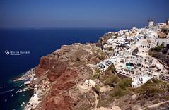 _Santorini (marziabertelli) Tags: santoini landscape nikon flickr viaggio trip viaggiare fotografia foto pic orizzonte colori love azzurro montagna mare marziabertelliph