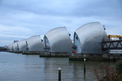 Thames Barrier 4 (Tony Howsham) Tags: london thames barrier canon eos70d sigma 18250 os landscape city