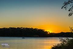 Another Lake Lanier Sunset (The Suss-Man (Mike)) Tags: animal gainesville georgia hallcounty hollypark lakelanier nature sonyslta77 sunset sussmanimaging thesussman unitedstates water lake lanier reflection boat sunburst