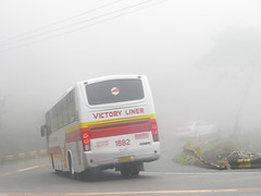 Victory Liner 1882 (JanStudio12) Tags: bus highway victory sharp curve tuba marcos pinoy liner fanatic pbf benguet 1882 vli janstudio12 palispis