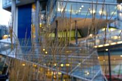 Nord LB (rckem) Tags: licht hannover architektur dmmerung glas niedersachsen nordlb nordlbhannover