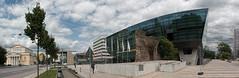 Darmstadtium (Goleraan) Tags: panorama deutschland hessen outdoor spiegelung darmstadt reflextion 276 darmstadtium tonemapped mariongrfindnhoffplatz