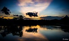 Evening Canvas (achuaniaku) Tags: sunset clouds evening 28300mm lalbagh d610