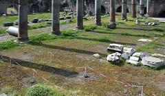 Basilica Ulpia paving