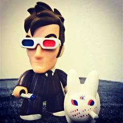 The Doctor and his new companion #DoctorWho #labbit #Kidrobot #luckykatt #urbanvinyl #vinyltoy #toyphotography #instatoy #welovetitans (Luckykatt) Tags: square kidrobot doctorwho squareformat unknown labbit mycollection luckykatt iphoneography instagramapp uploaded:by=instagram
