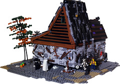 Haunted Manor - 03 (donwilson) Tags: halloween lego evil haunted creation torture monsters custom moc 2014