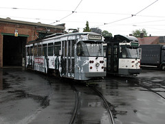 010 09-06-14 Gent Gentbrugge Depot Tw 27 + 6212 - 01 (tramfan239) Tags: belgium tram bn ghent gent gand belgien pcc delijn strasenbahn