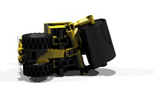 Road Roller (MOC) (hajdekr) Tags: road lego roller moc ldd legotechnic myowncreation legodigitaldesigner legotoyline