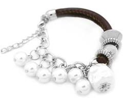 5th Avenue White Bracelet P9409A-3