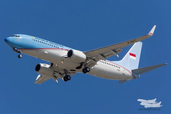 Republik of Indonesia B738 A-001 01 YBBN-6400 (A u s s i e P o m m) Tags: australia brisbane queensland g20 eaglefarm g20summit