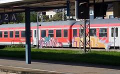 Graffiti (Honig&Teer) Tags: railroad sport train graffiti slam eisenbahn hannover db vehicle railways tcs treno deutschbahn spraycanart hildesheim railroadgraffiti honigteer eisenbahngraffiti