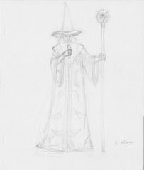 Metalocalypse Announcer Wizard Signed Production Drawing (candoartist) Tags: animation animationart dethklok metalocalypse dethrace productioncel productiondrawing
