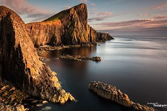 Neist Light (Dave Brightwell) Tags: sunset seascape skye art canon photography scotland rocks isleofskye scottish hitech formatt neistpoint bwnd