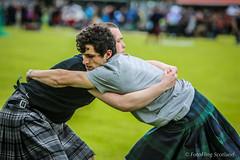 George Reid & Jack McClusky (FotoFling Scotland) Tags: male kilt perthshire wrestler tartan highlandgames kilted meninkilts blairatholl scottishwrestlingbond wrestlingbond blairathollgathering